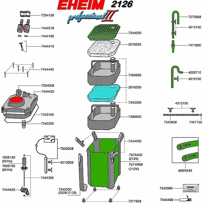 Eheim Thermofilter professionel II 2126