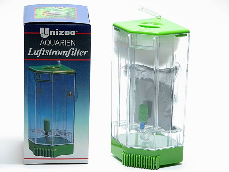 innenfilter luftstromfilter f r nano aquarium bis 60 liter. Black Bedroom Furniture Sets. Home Design Ideas